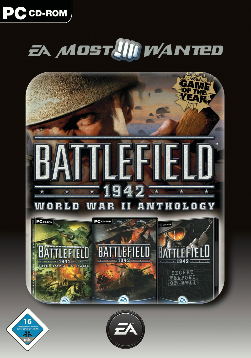 Battlefield 1942: WW2 Anthology EA Most Wanted