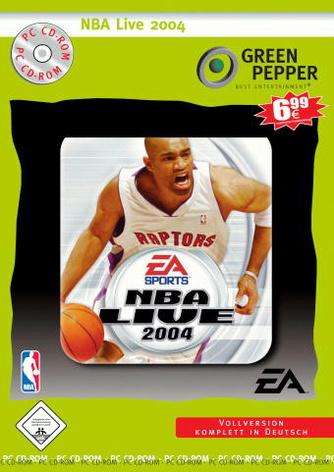 NBA Live 2004 [Green Pepper]