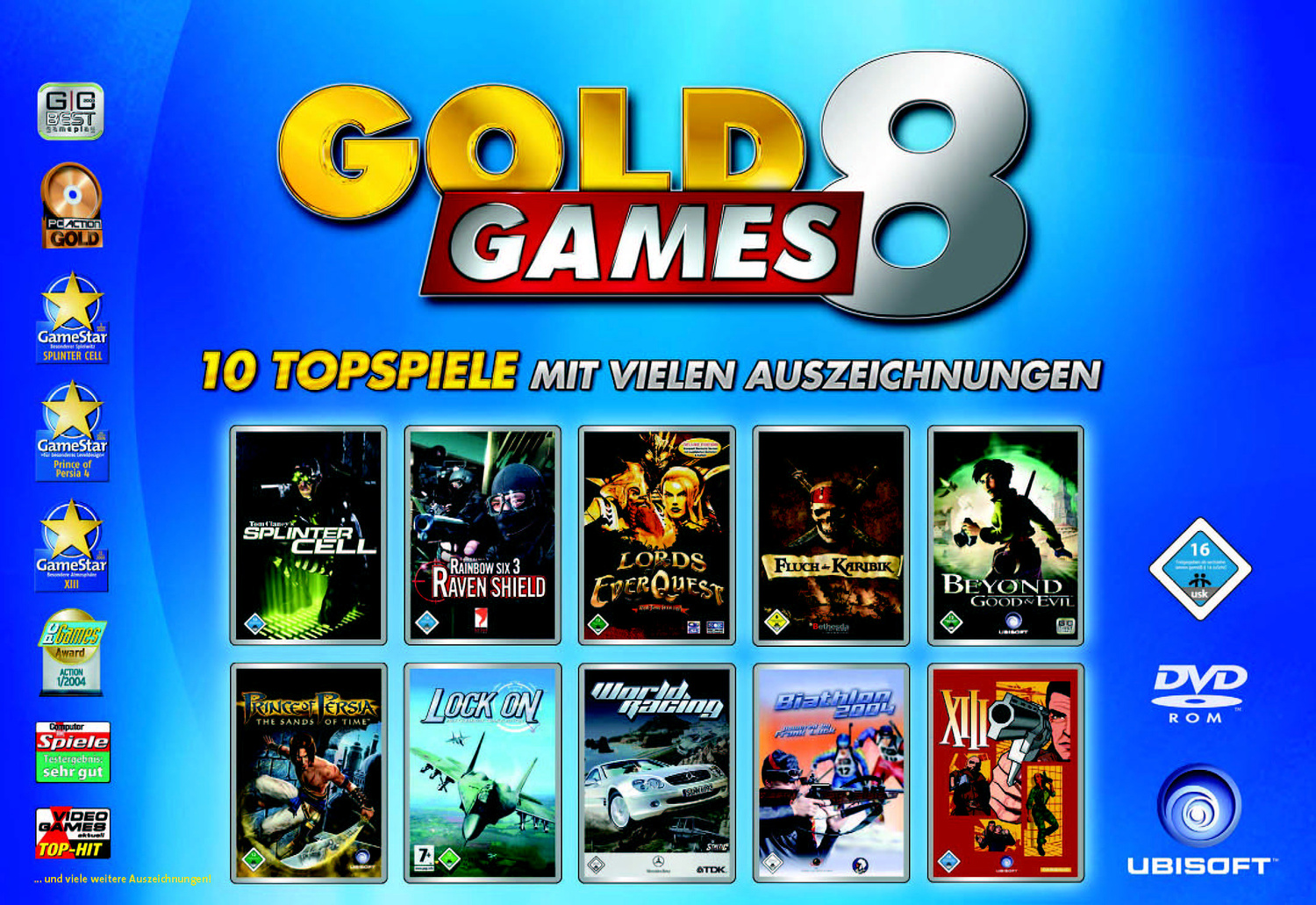 Gold Games 8 (PC-DVD)