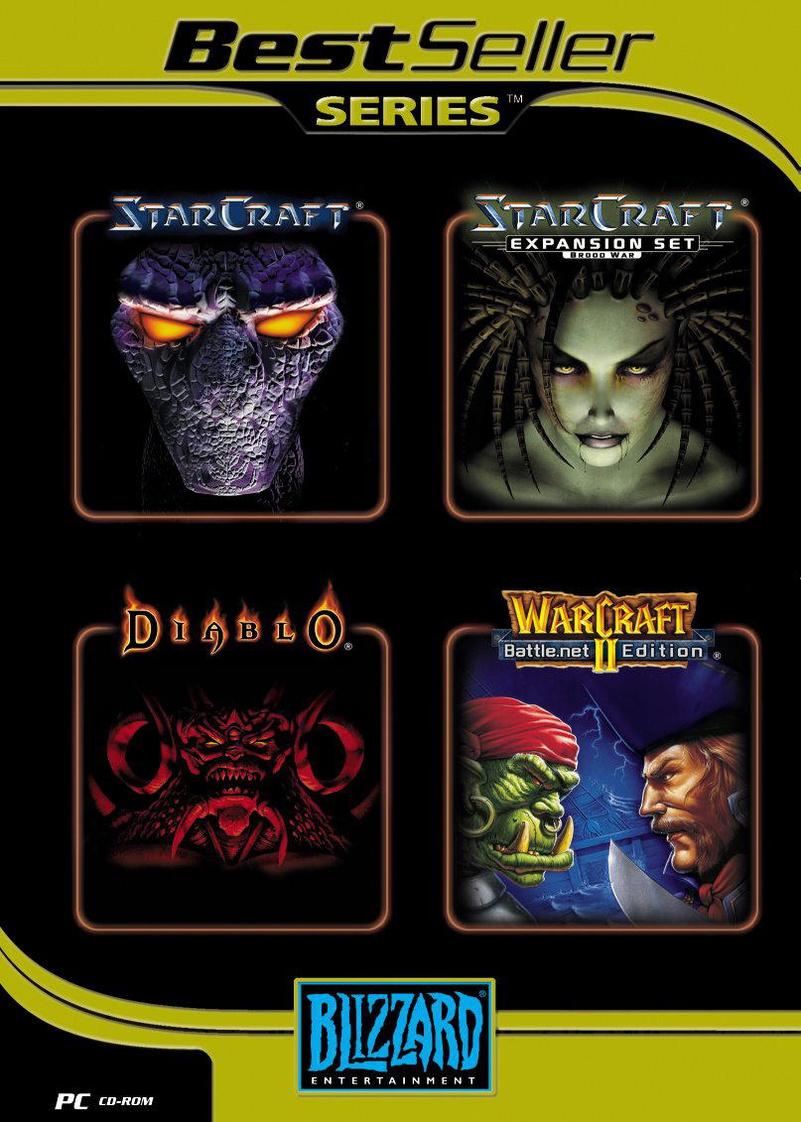 Blizzard Pack 4 Spiele: Starcraft, Starcraft Ad...