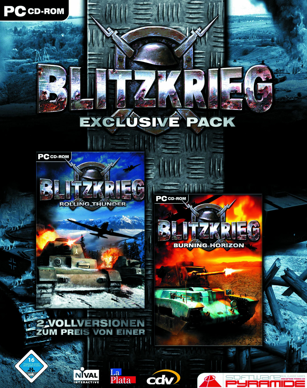 Blitzkrieg Exclusive Pack Rolling Thunder + Burning Horizon