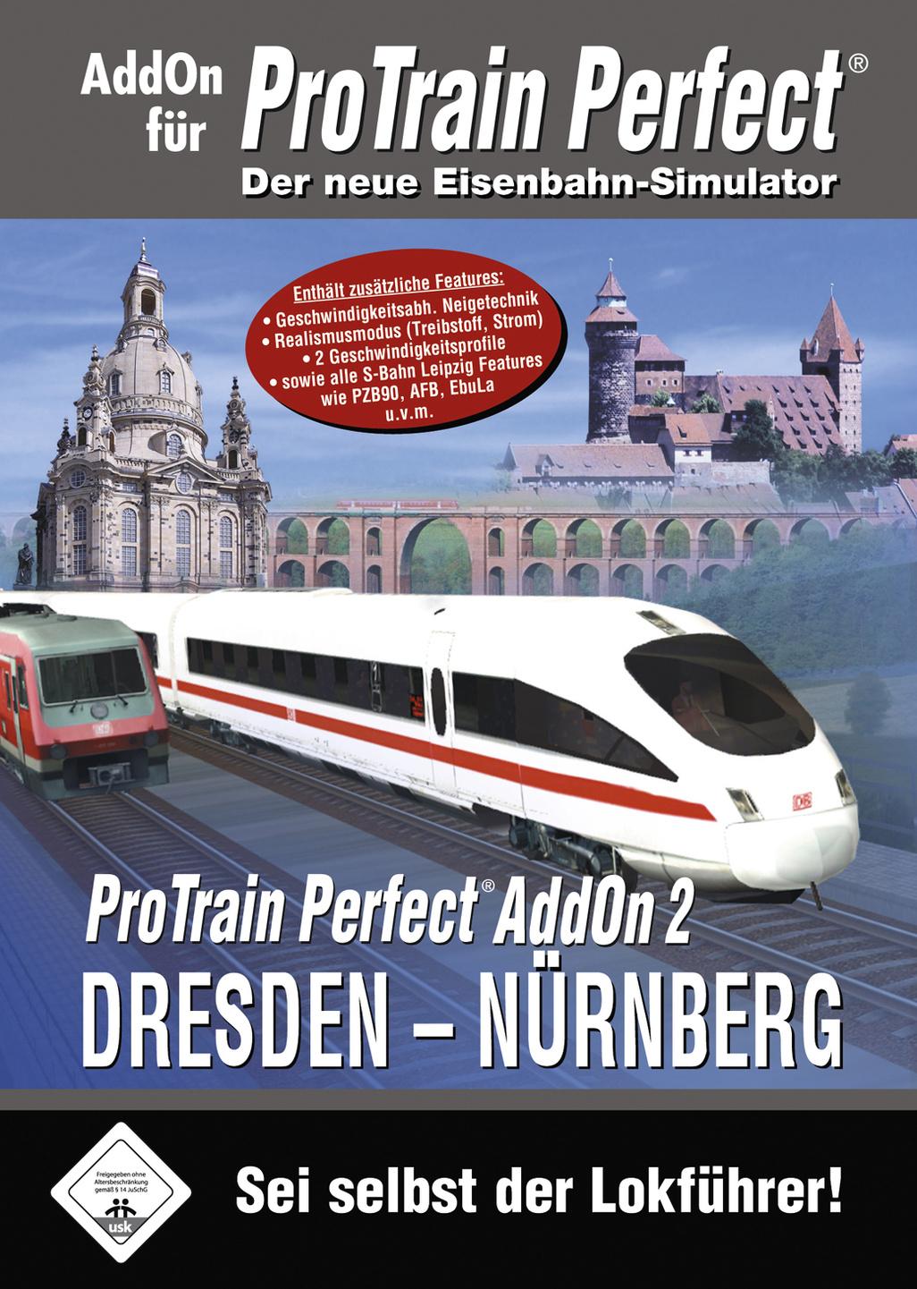 ProTrain Perfect AddOn 2 Dresden - Nürnberg