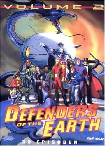 Defenders Of The Earth Vol.2 [6 DVDs]