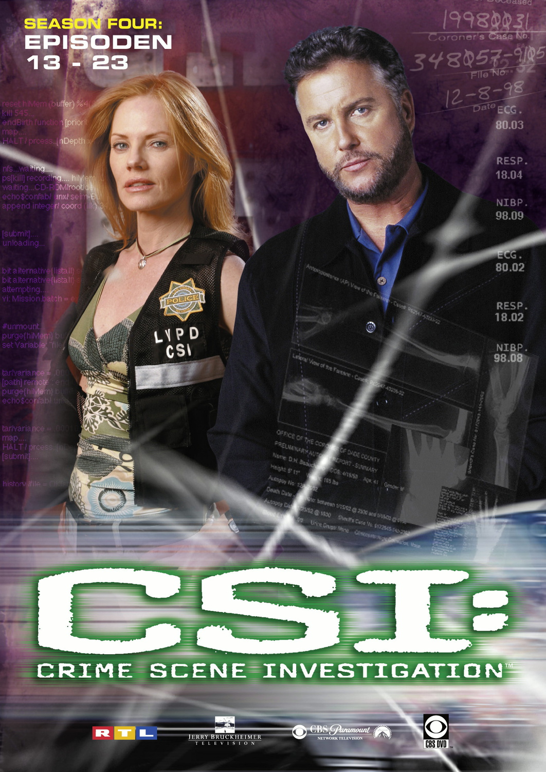 CSI: Crime Scene Investigation - Season 4.2 [3 DVDs]