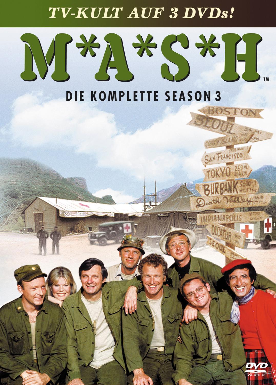 MASH - Season 3 Box (3 DVDs)