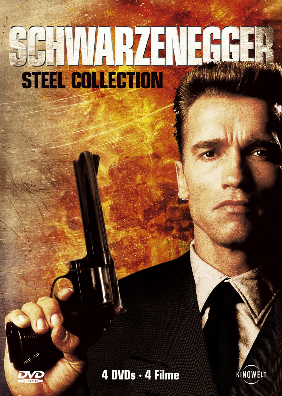 Schwarzenegger Steel Collection (4 DVDs)