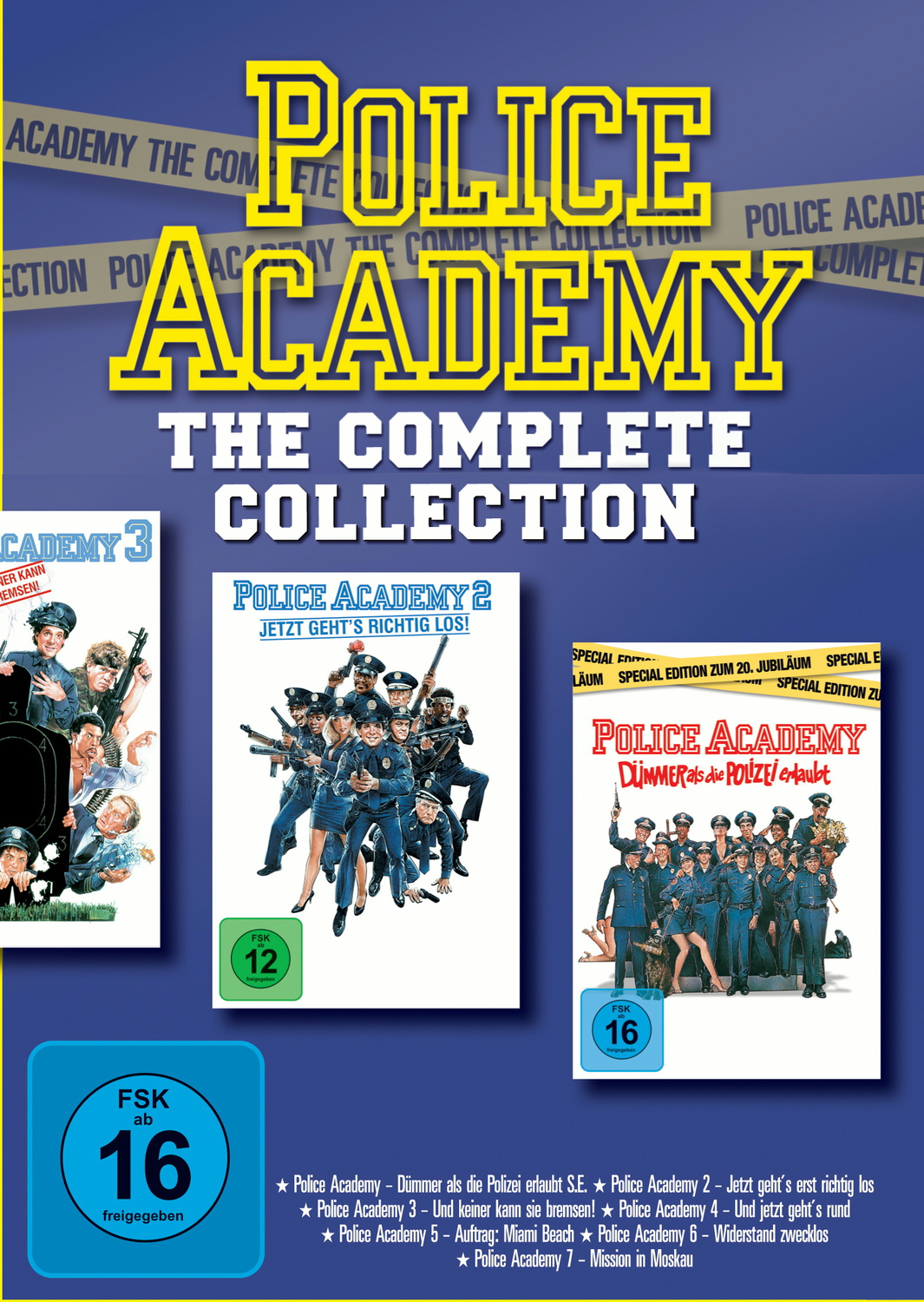 Police Academy-Complete Collection