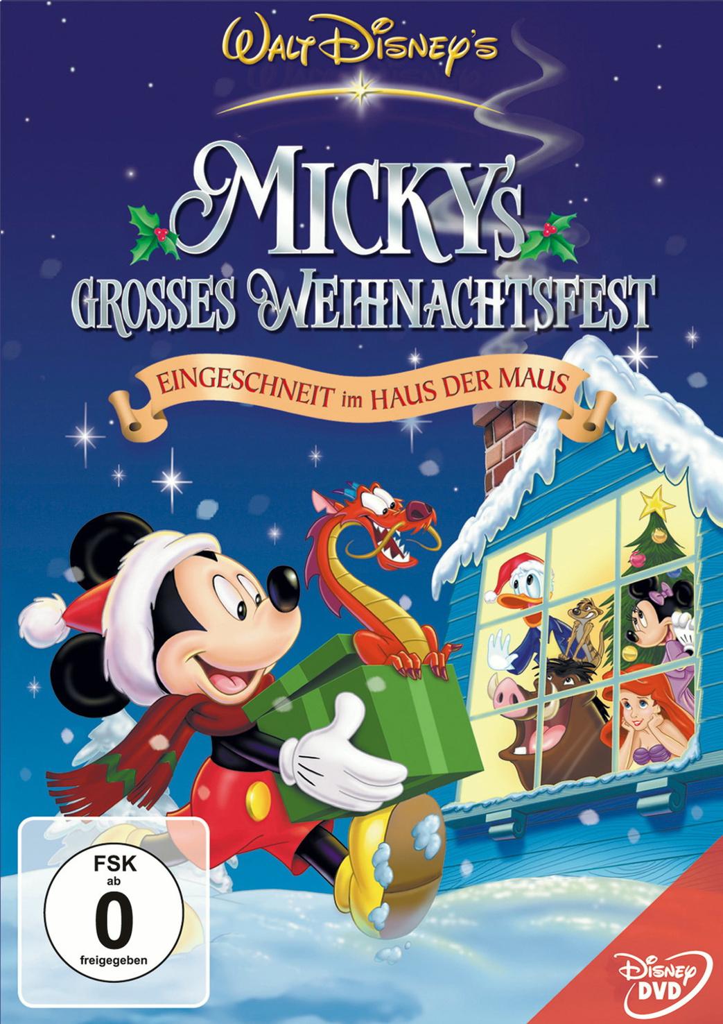 Mickys großes Weihnachtsfest Eingeschneit im Haus der Maus