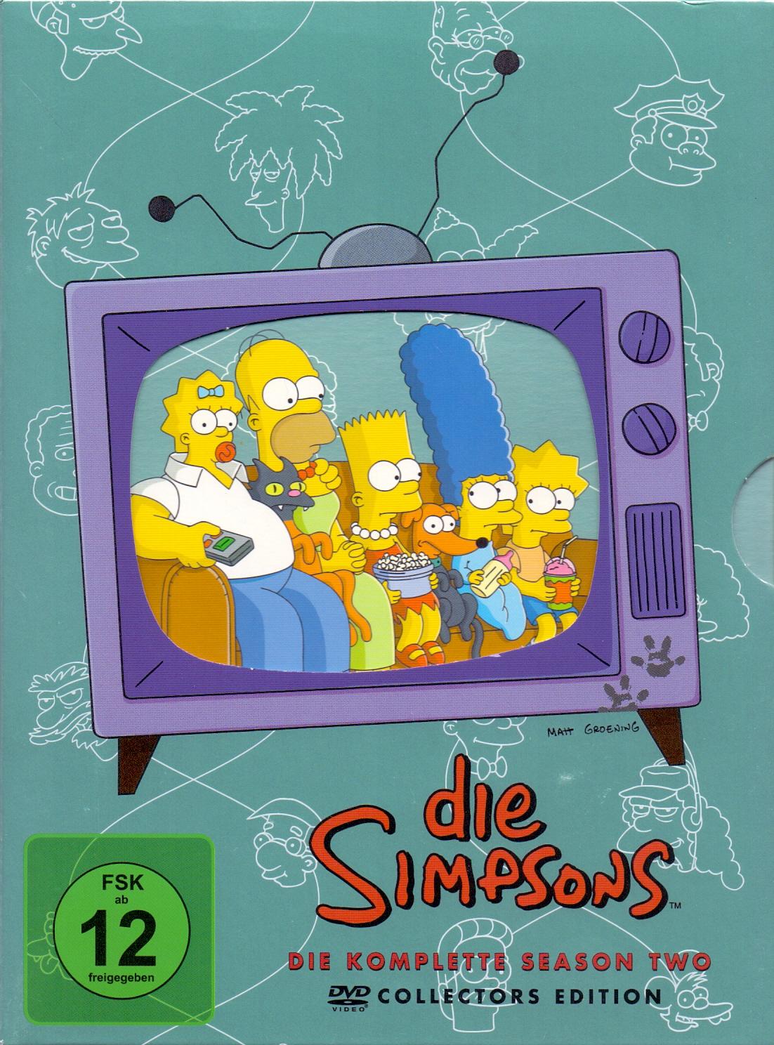Die Simpsons: Die komplette Season 2 [Collectors Edition]