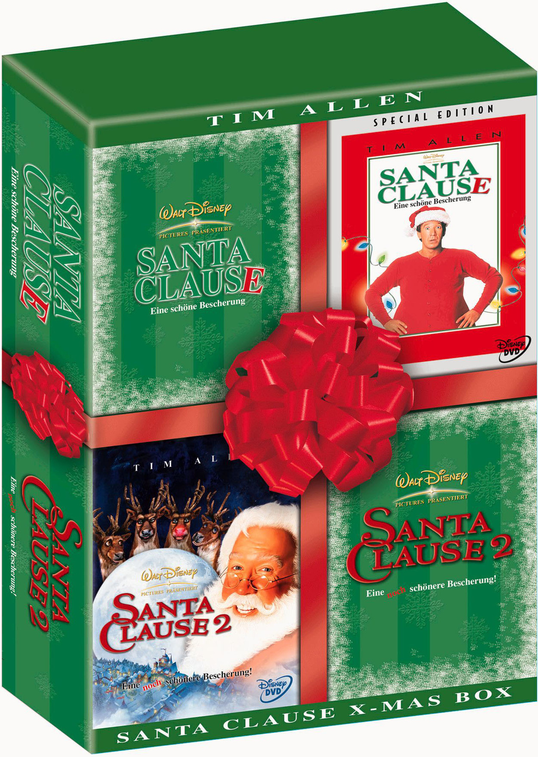 Santa Clause 1 + 2 Box Set