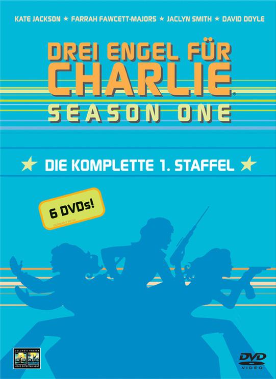 Drei Engel für Charlie: Season 1 [6 DVD´s]