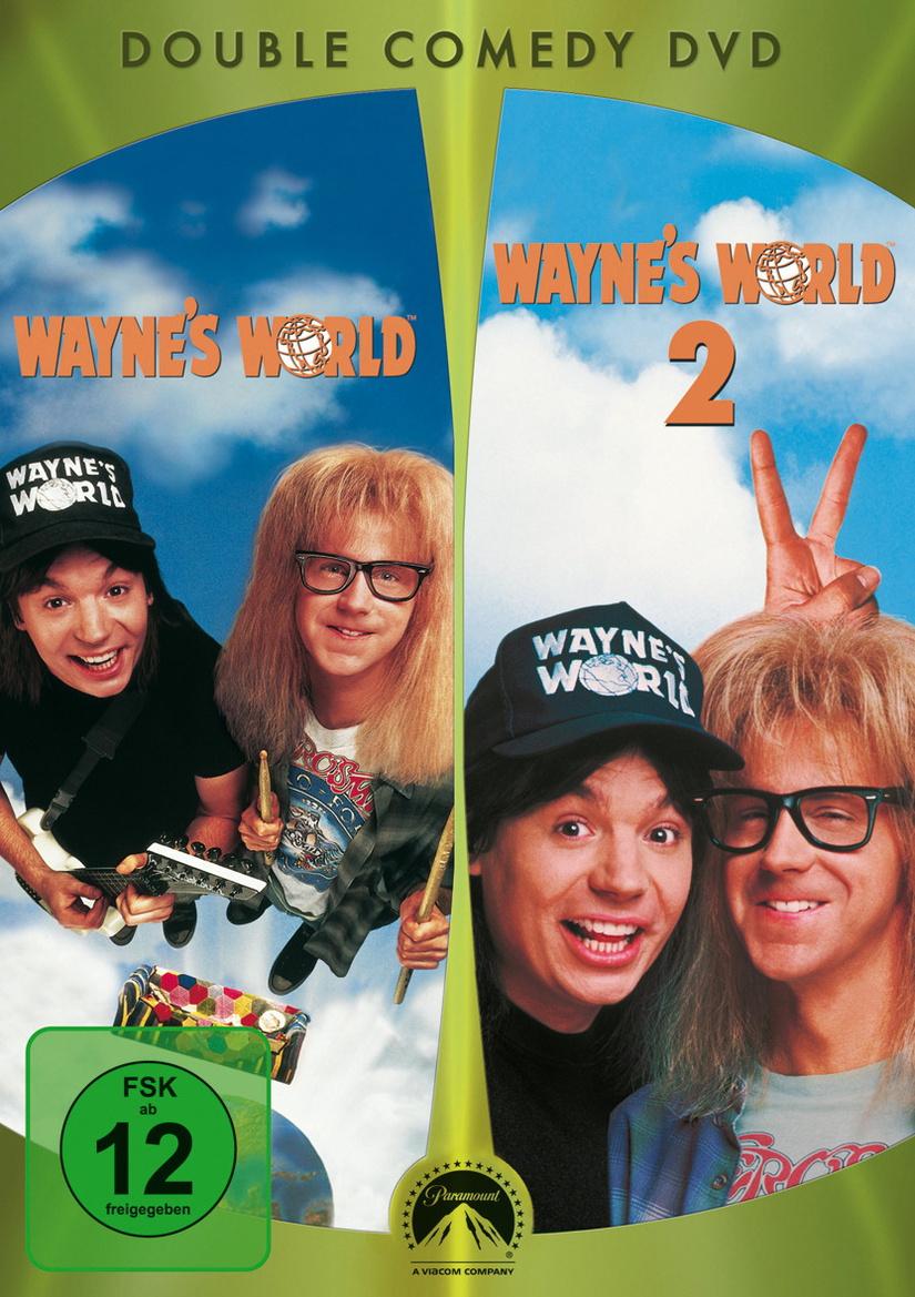 Wayne´s World 1+2 Amaray Box
