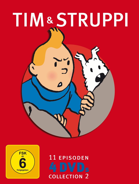 Tim & Struppi Collection 2 (4DVDs)