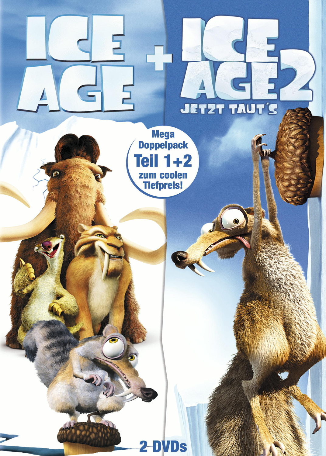 Ice Age / Ice Age 2 (2DVDs)