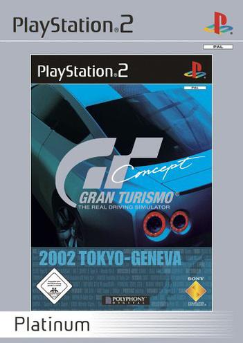 Gran Turismo Concept 2002 Platinum Tokyo-Geneva