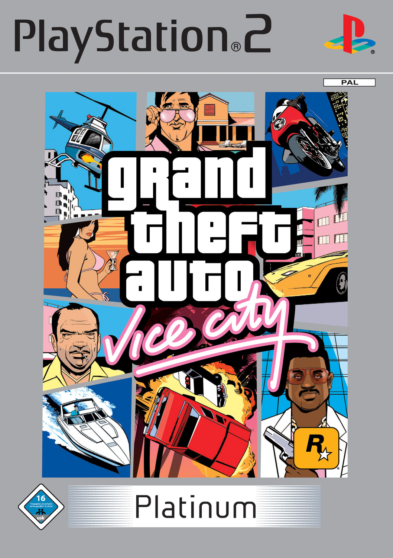 Grand Theft Auto: Vice City [Platinum]