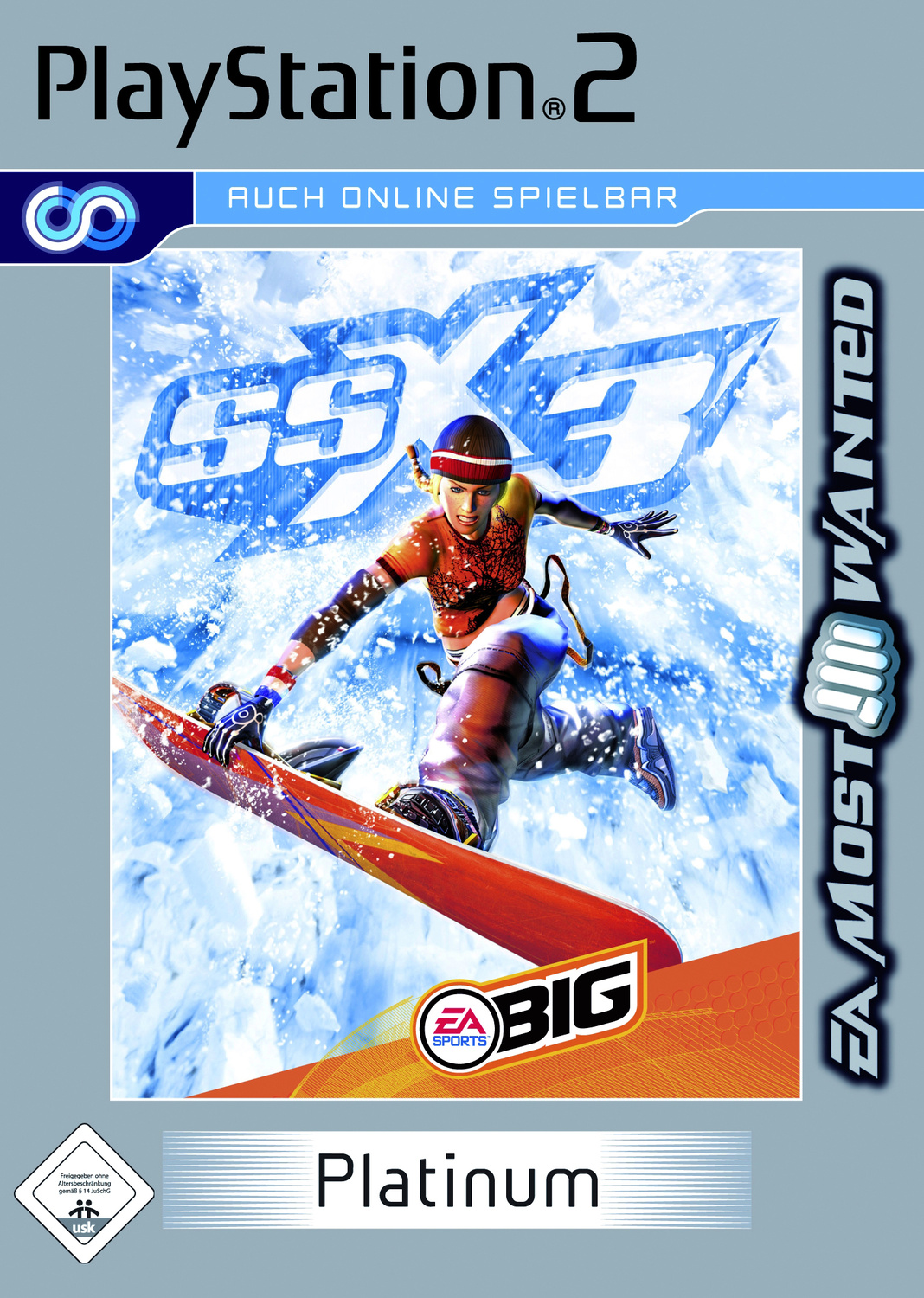 SSX 3 Platinum Most Wanted