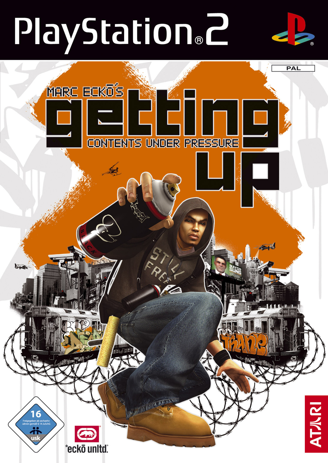 Marc Ecko´s: Getting Up - Contents under Pressure