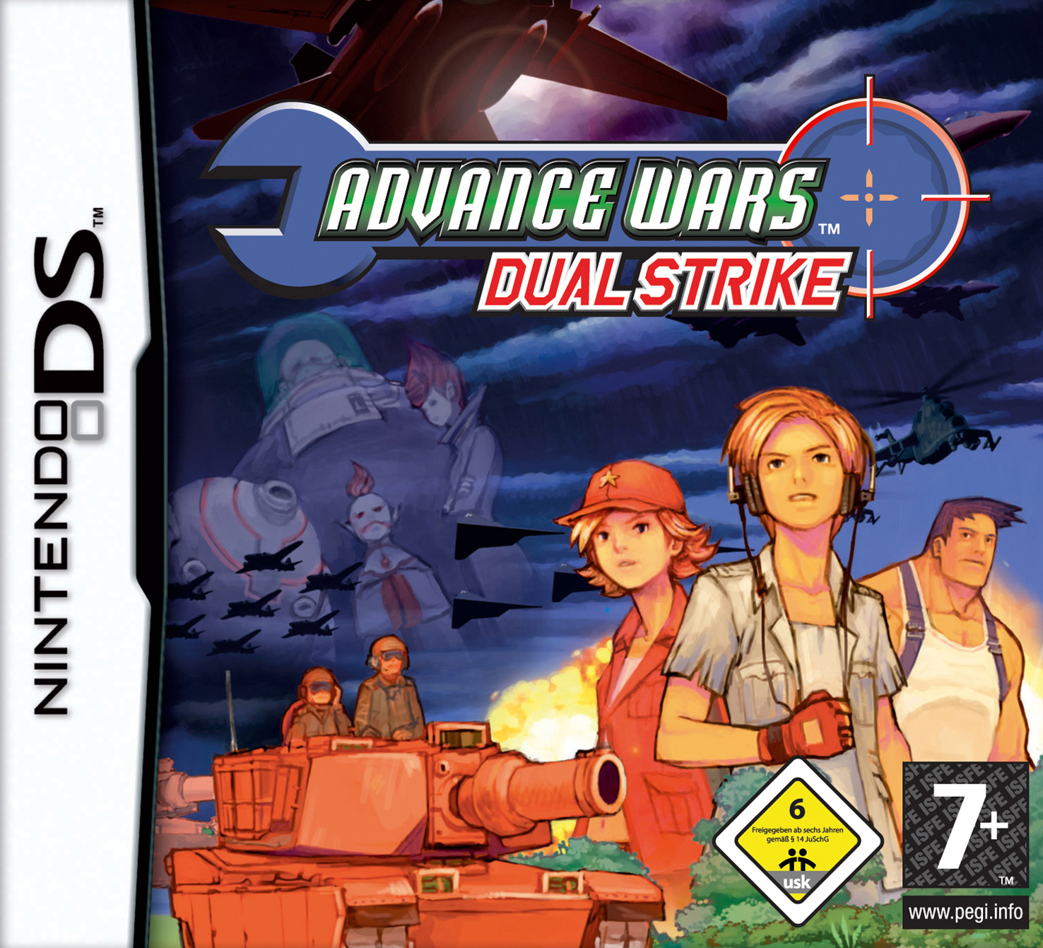 Advance Wars Dual Strike DS