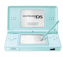 Nintendo DS lite türkis