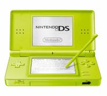 Nintendo DS lite grün