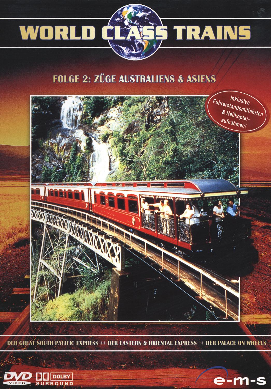 World Class Trains 2 Züge: Australiens + Asiens