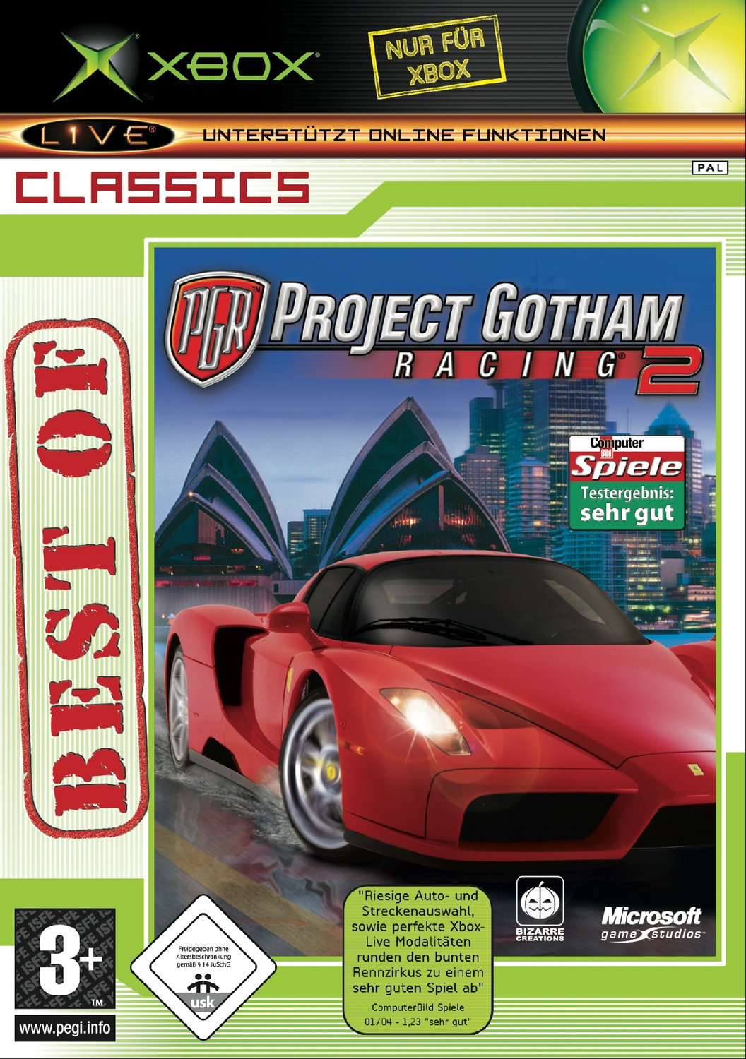 Project Gotham Racing 2 [Best of Classic]