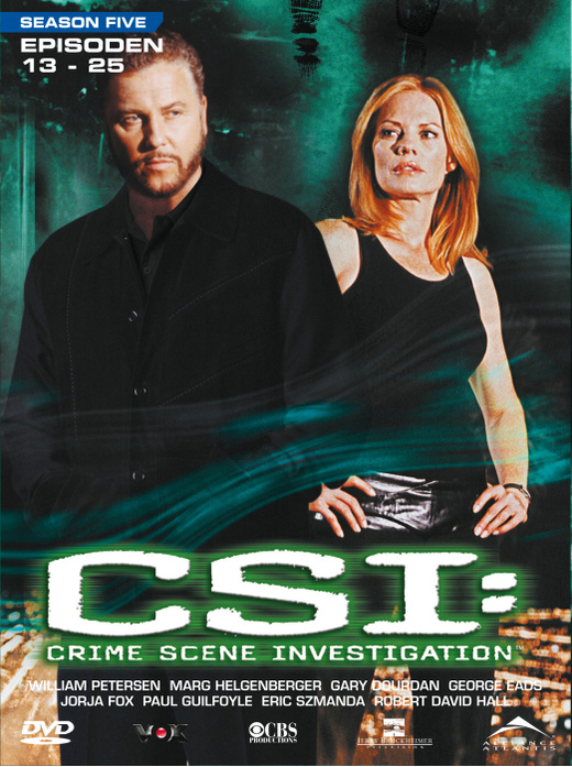 CSI: Season 5.2 [3 DVDs]