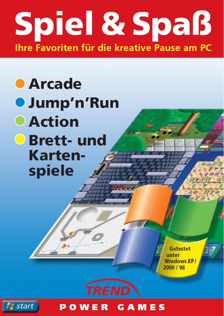 Spiel & Spaß 1: Arcade, Jump´n´Run Action, Bret...