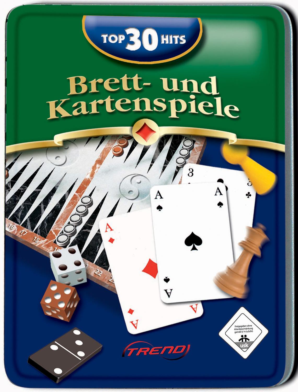 Top 30 Hits: Brett & Kartenspiele Metallbox