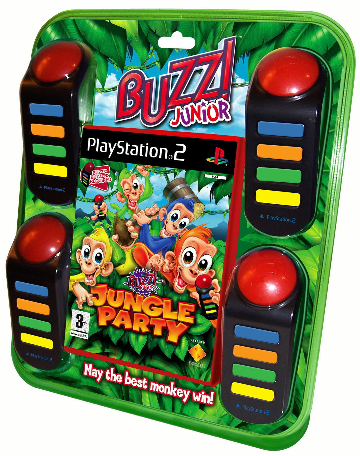 Buzz! Junior: Jungle Party + 4 Buzzer