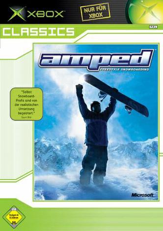 Amped - Freestyle Snowboarding - Xbox Classics