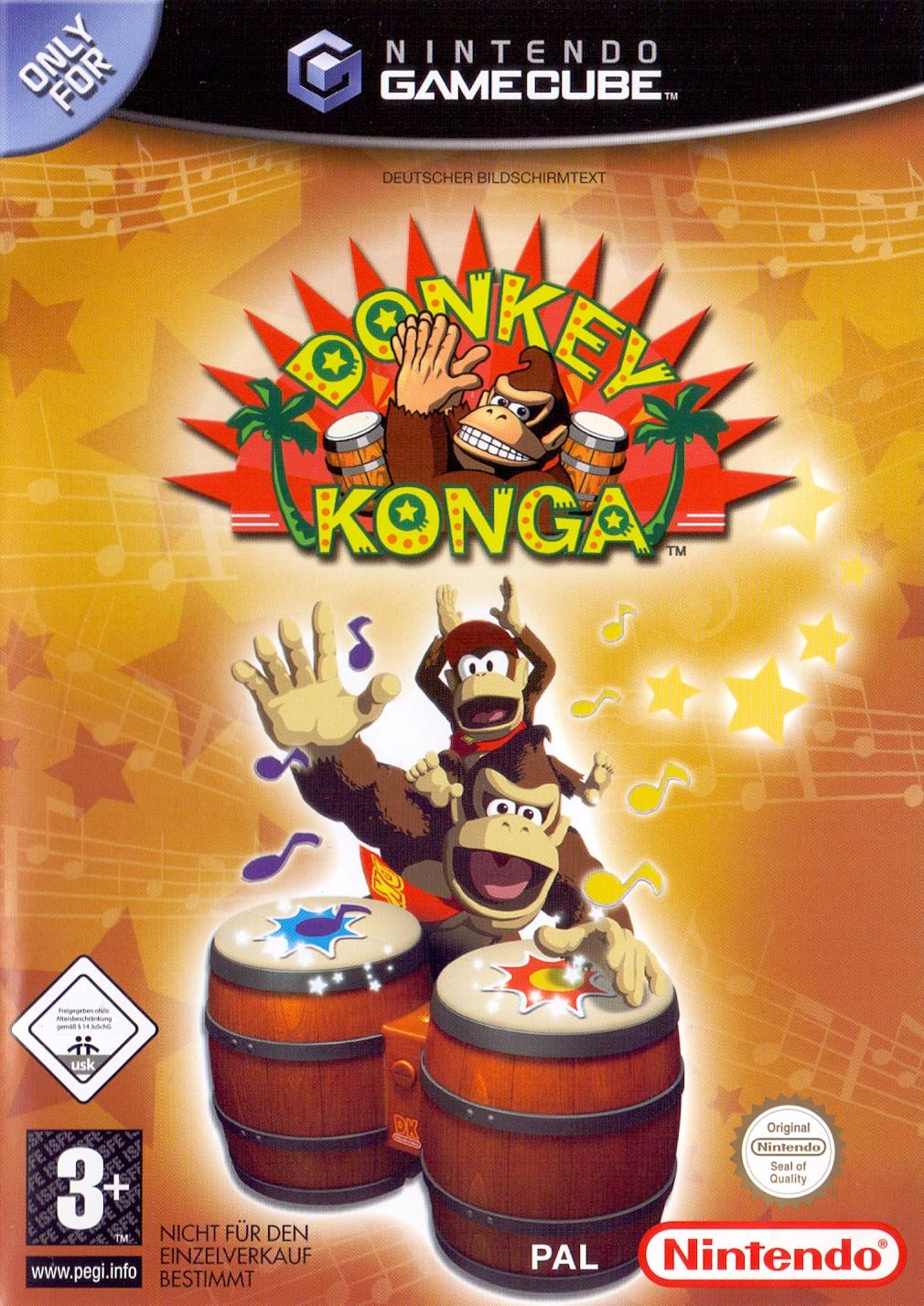 Donkey Konga [ohne Bongocontroller]
