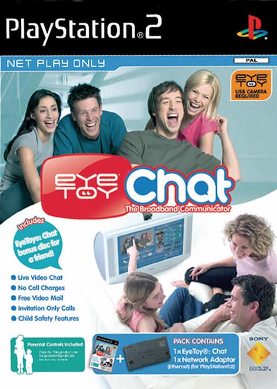 EyeToy Chat + Netzwerkadapter