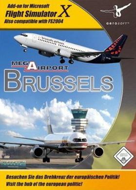 MS FS 2004/FSX AddON: Mega Airport Brussels