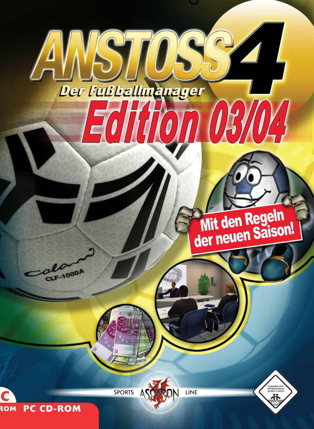 Anstoss 4 Edition 03/04