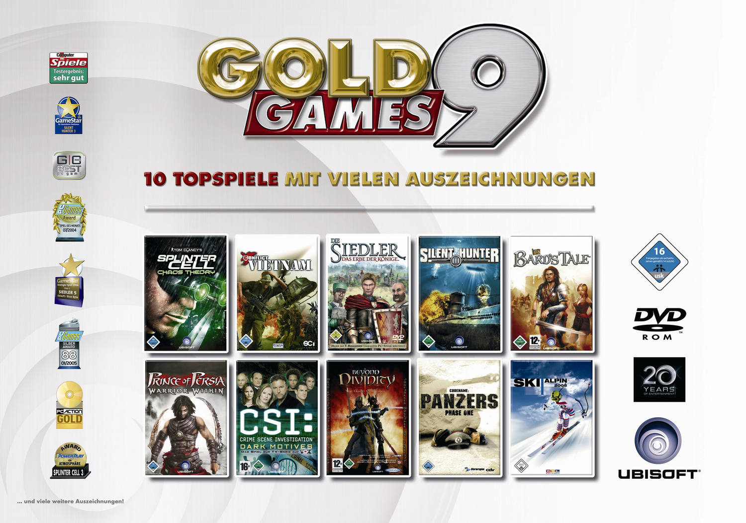 Gold Games 9 (PC-DVD)