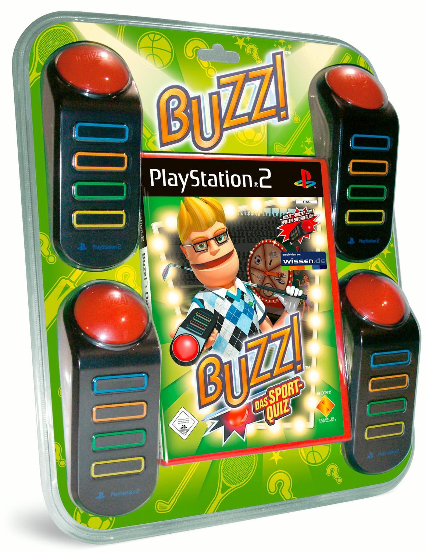 Buzz! Sport Quiz + 4 Buzzer