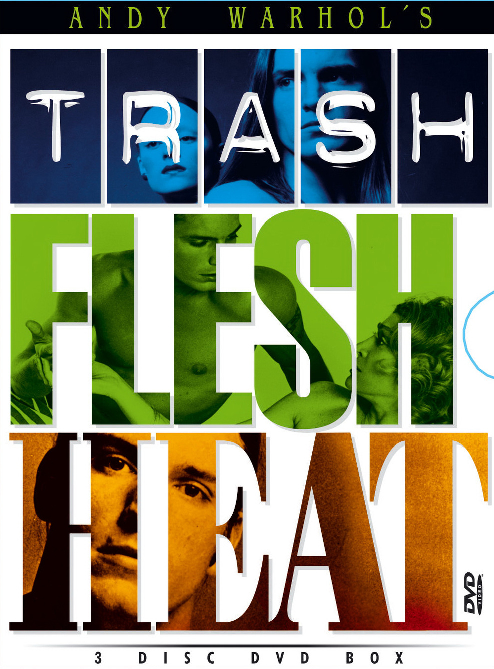Flesh/Trash/Heat Warhol 3 Film Digi Box