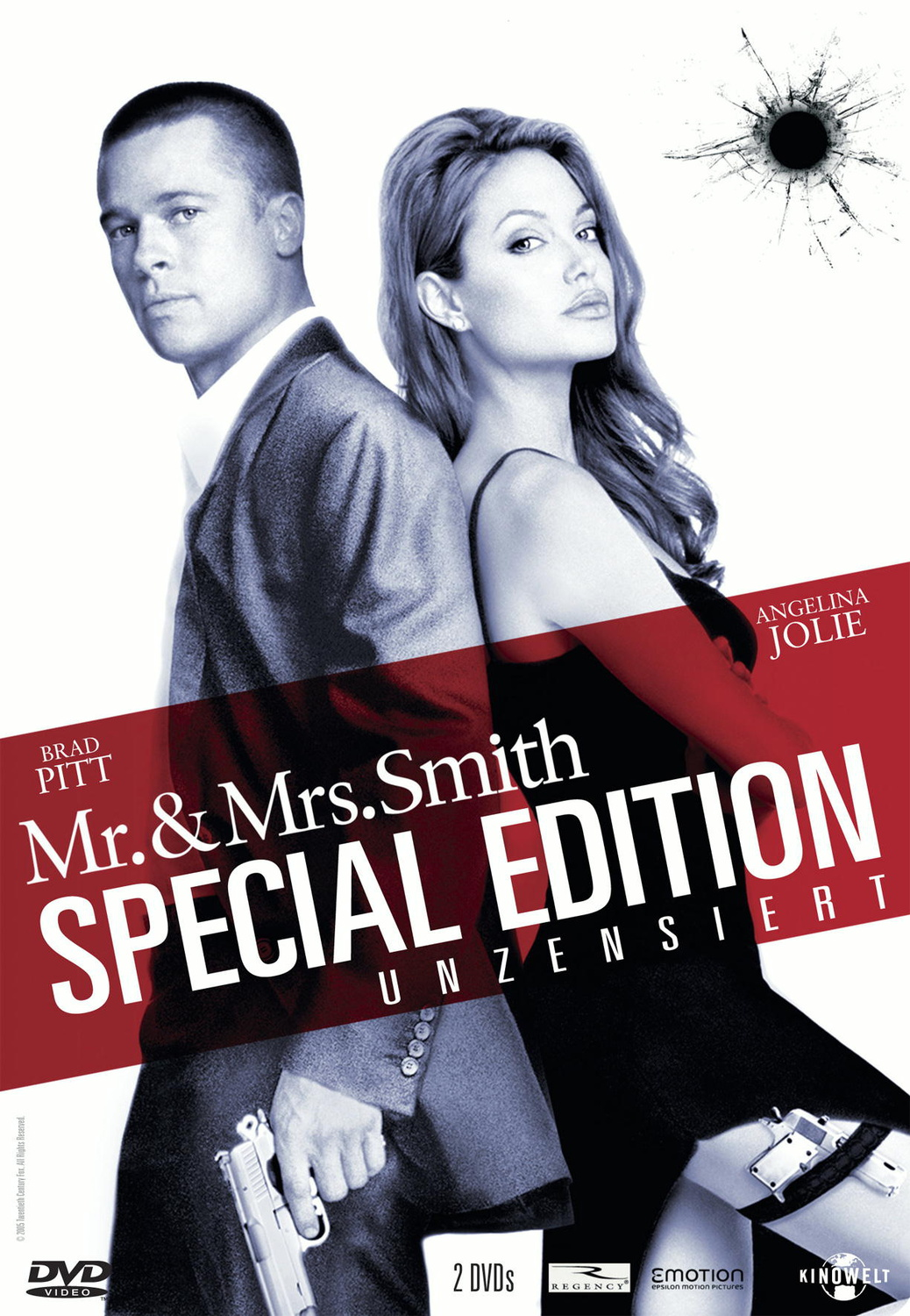 Mr. & Mrs. Smith S.E. unzensiert (2 DVD´s) Steelbook