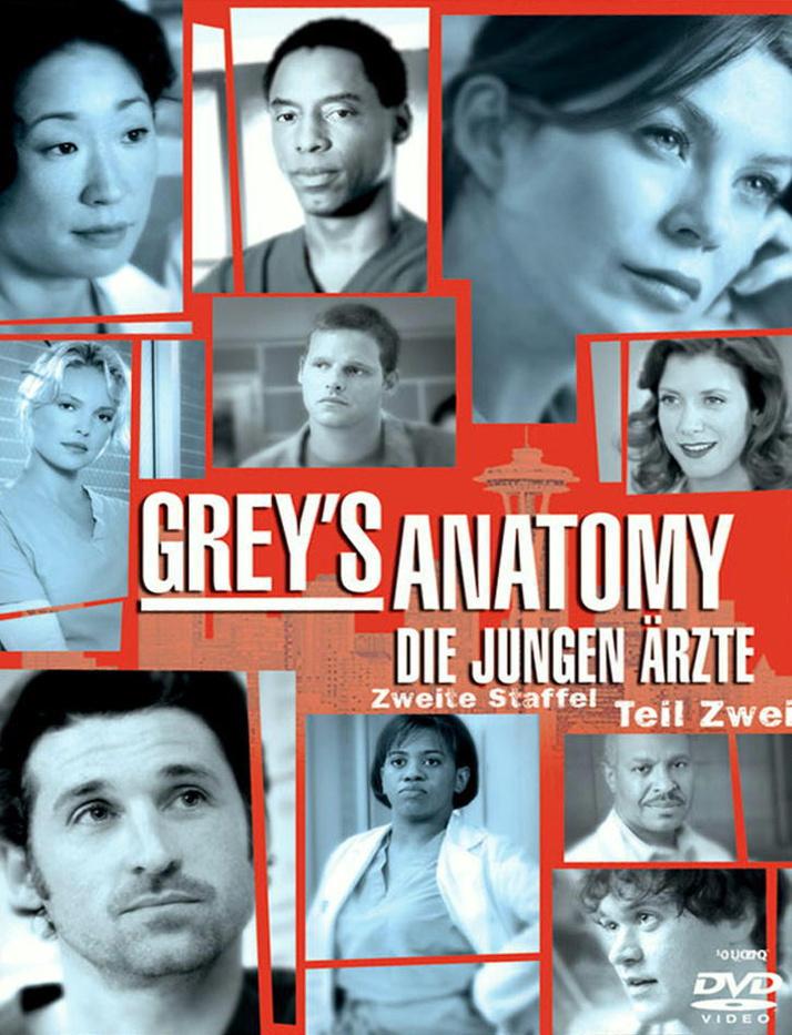 Grey´s Anatomy - Staffel 2 - Teil 2 [4 DVDs]