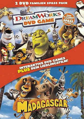 Madagascar - DVD Game