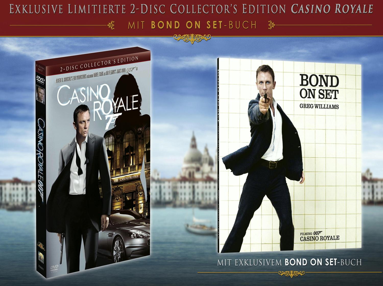 James Bond: Casino Royale inkl.Buch CE mit Bond...