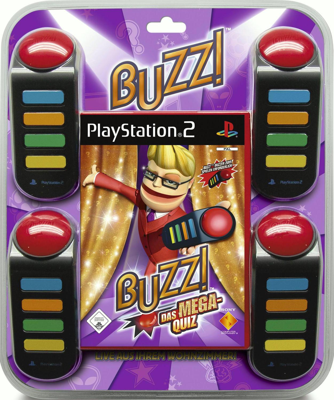 Buzz! Das Mega-Quiz inkl. Buzzer