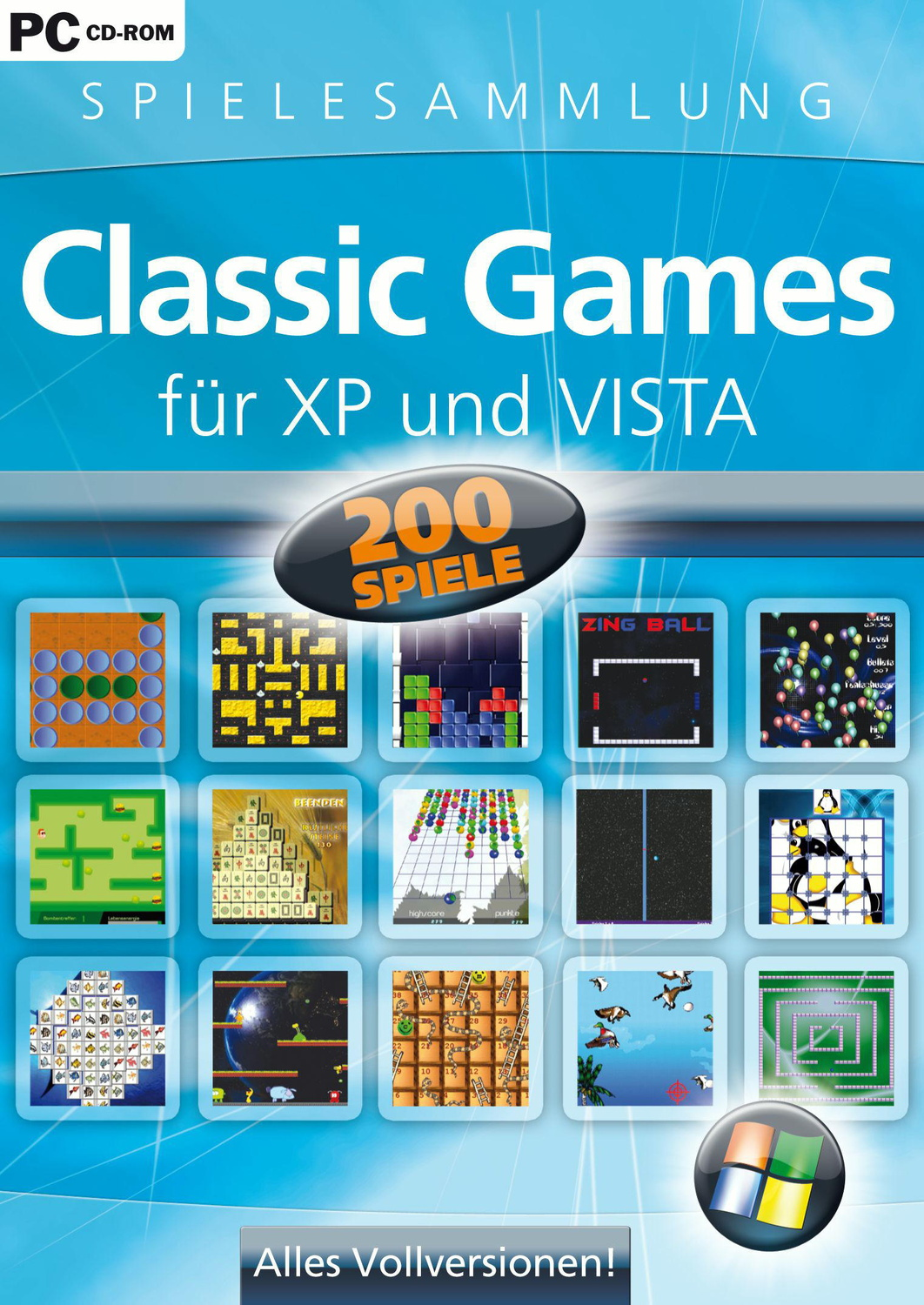 Classic Games f.Windows XP u. Vista