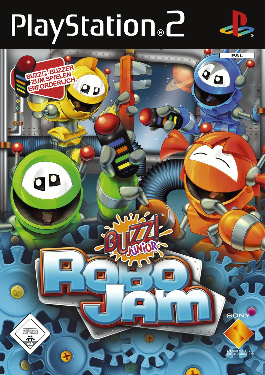 Buzz! Junior: RoboJam [nur Software]