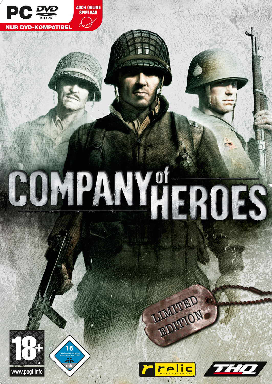 Company of Heroes Special Edition im Steelbook
