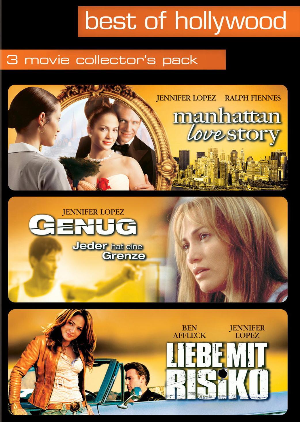 Best Of Hollywood: 3 Movie Collection 7: Manhattan Love Story & Genug & Liebe mit Risiko