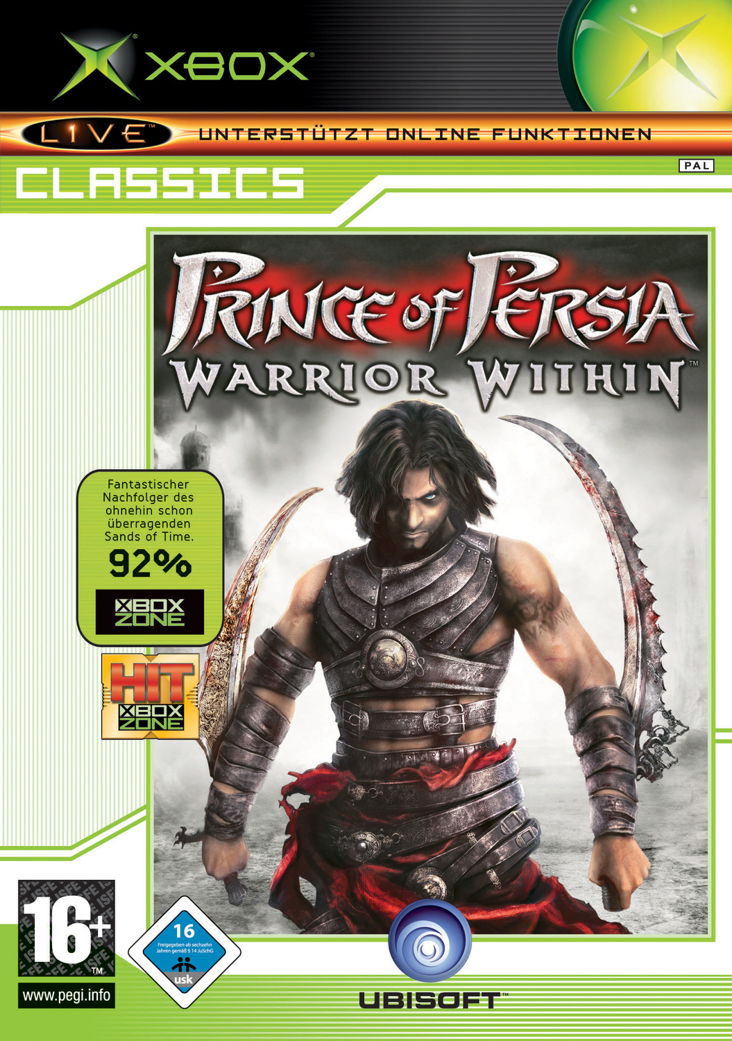 Prince of Persia - Warrior Within (XBox Classics)