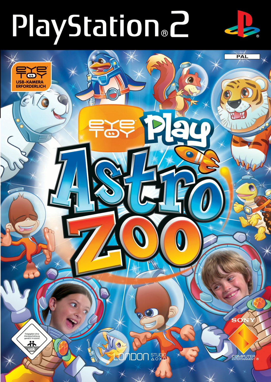 EyeToy: Play 5 Astro Zoo (Software only)